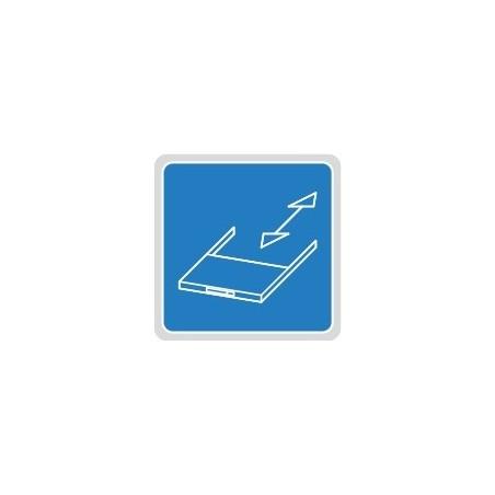 Wysuwana półka na prowadnicach kulkowych
