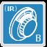 Szyfrowy mechaniczny Klasa B (IR)